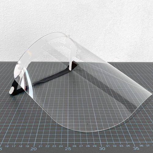 3D-Gedrucktes Gesichtsschild von 3Dee