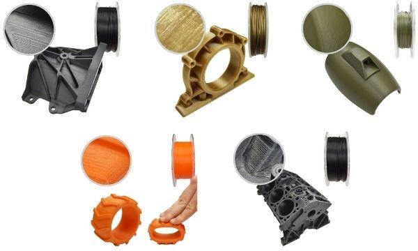 3Dee Filament Arten Werkstoffe