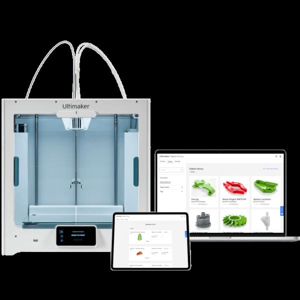 Ultimaker-Essentials-3D-Drucker Aufrüstung