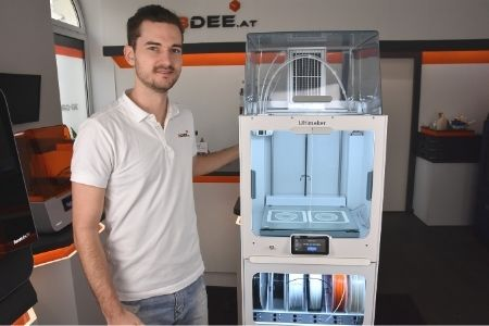 Ultimaker S5 mit Air Manager 3Dee-Experte