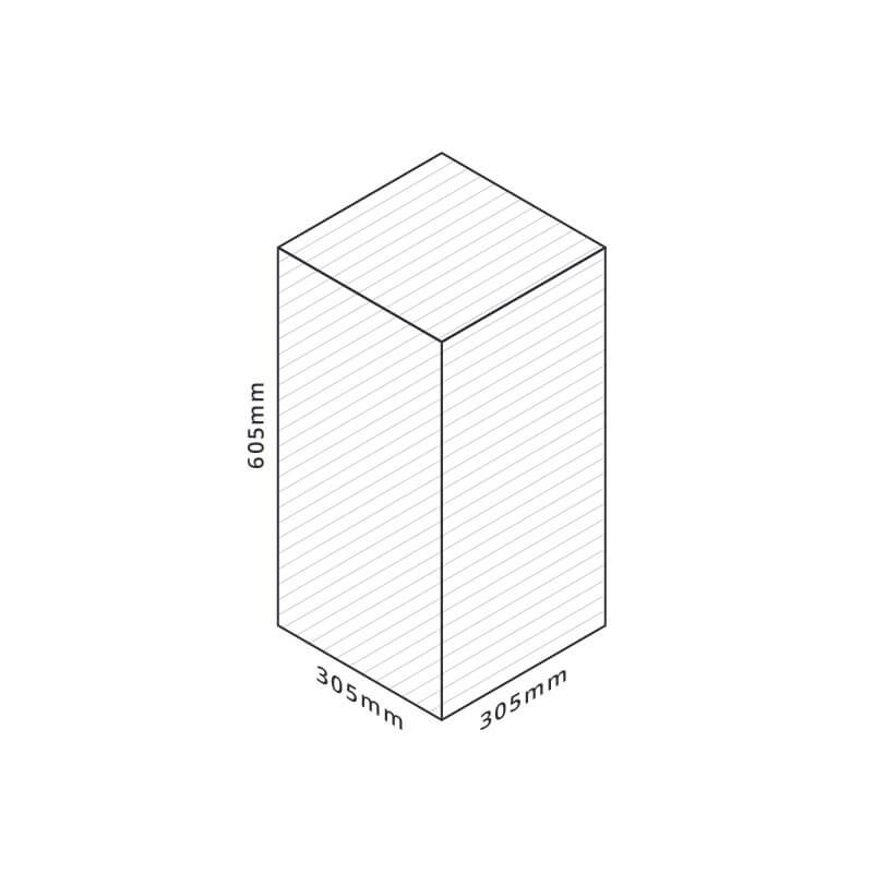 Raise3D Pro 2 Bauraum
