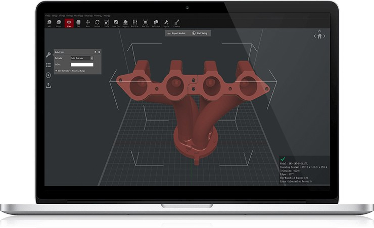 Raise 3D Ideamaker Software