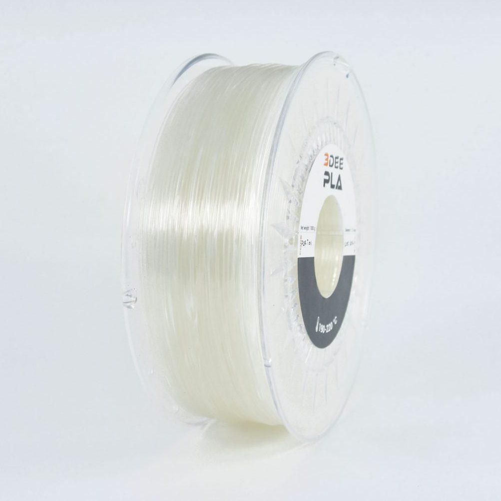 3DEE PLA Filament transparent kaufen Wien 3D-Drucker Material bestellen