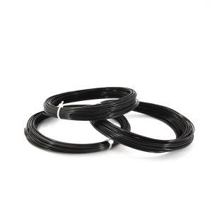 3DEE PLA matt schwarz filament probemenge