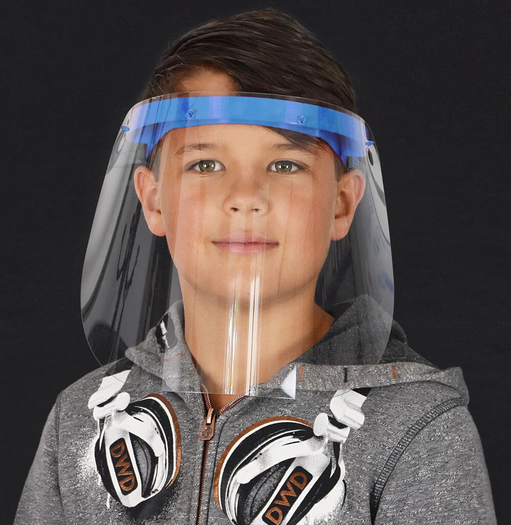 3D-Gedrucktes Gesichtsschild für Kinder von 3Dee