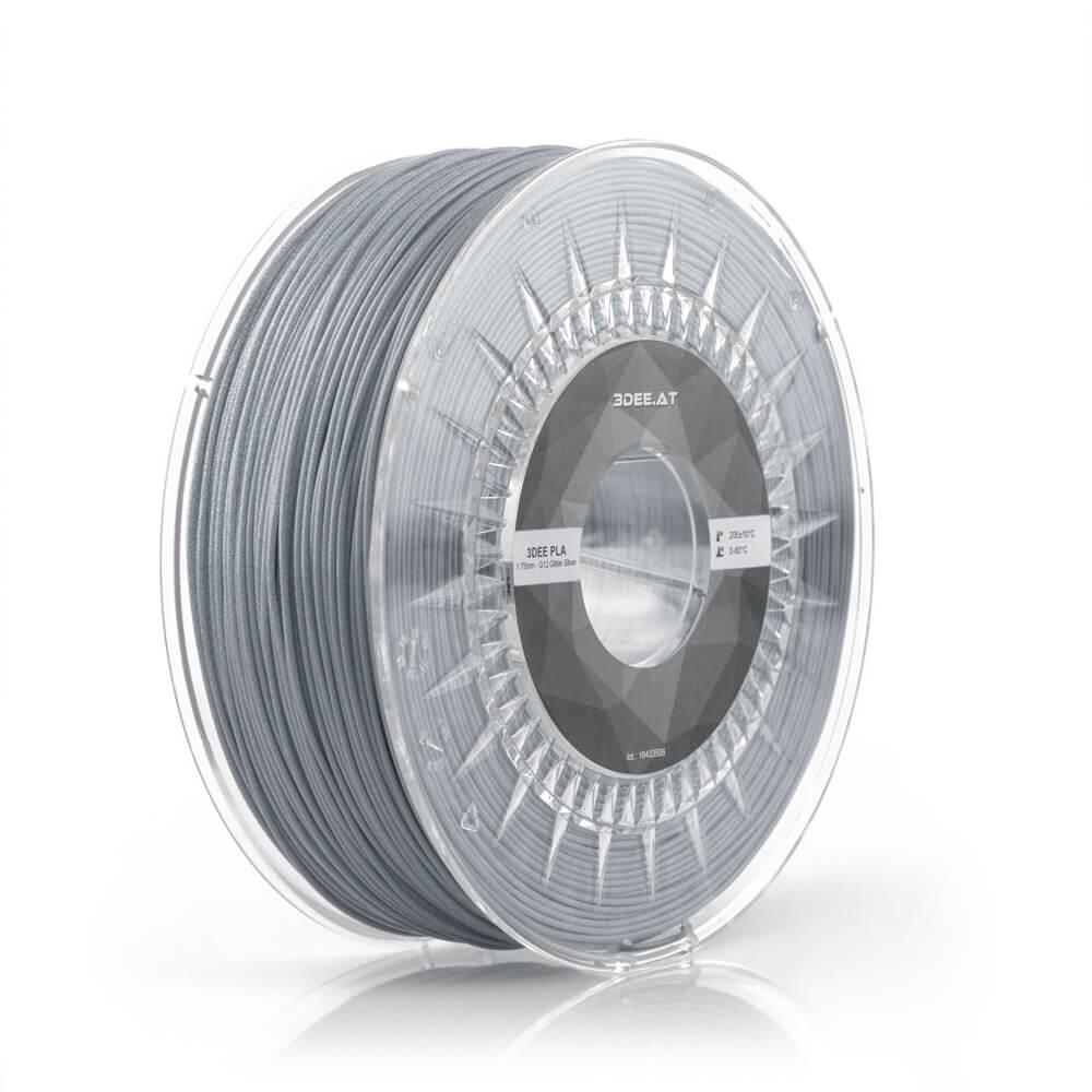 pla filament kaufen wien 3dee 3d-druck material glitzer silber