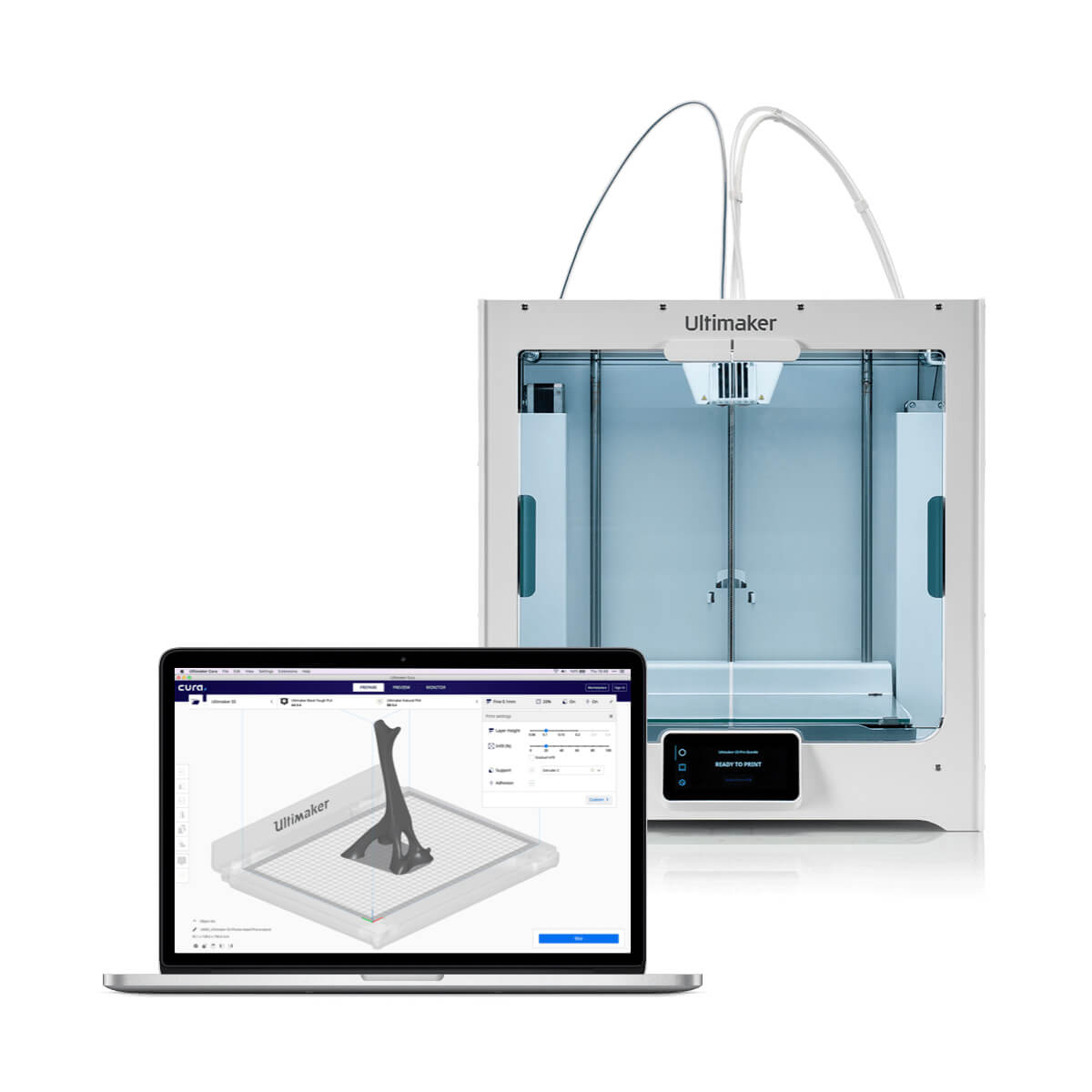 Ultimaker 3D-Drucker Cura Software