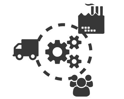 Lieferkette Supply-Chain