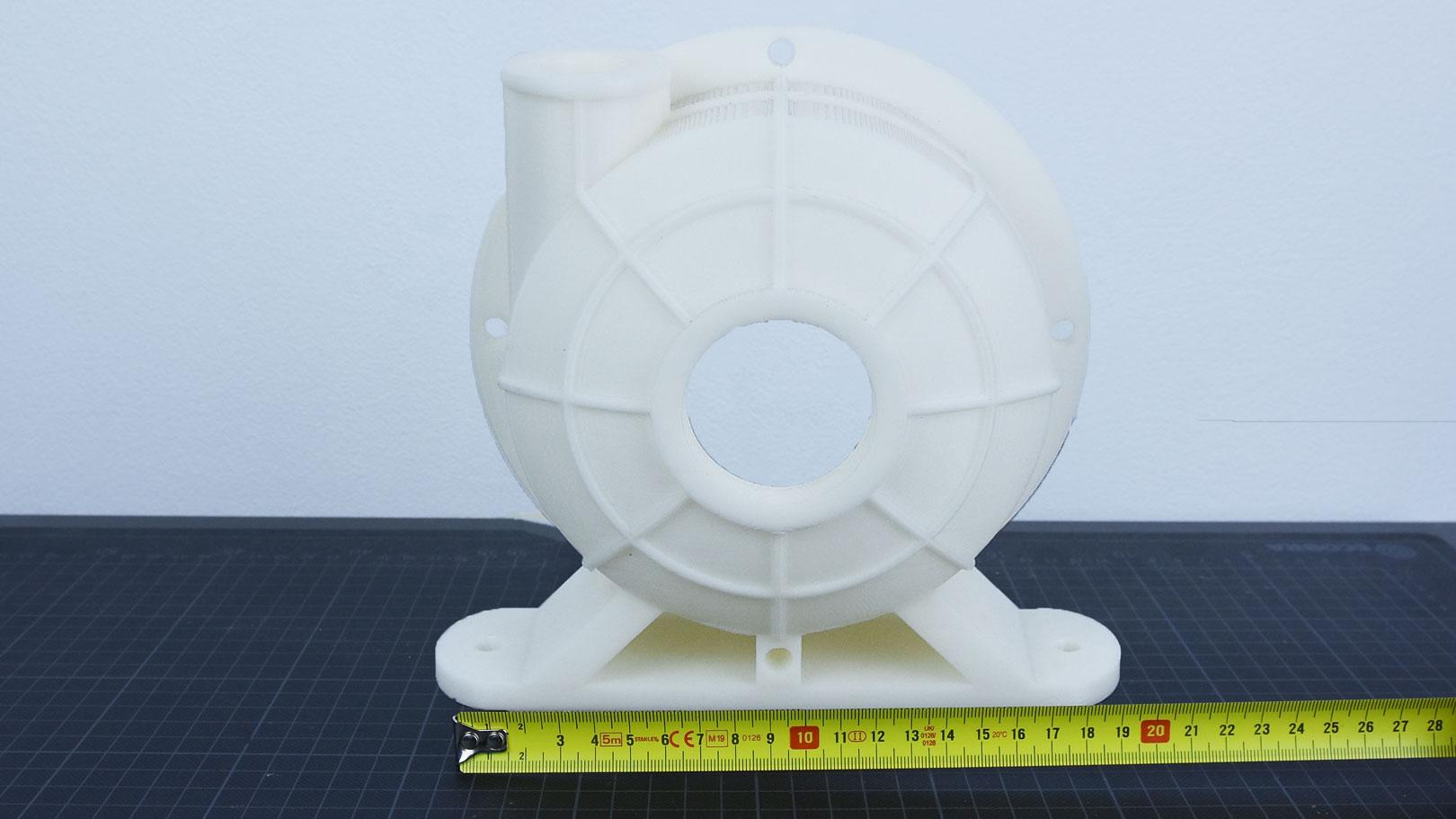 3D-Druckservice Größenvergleich FDM groß