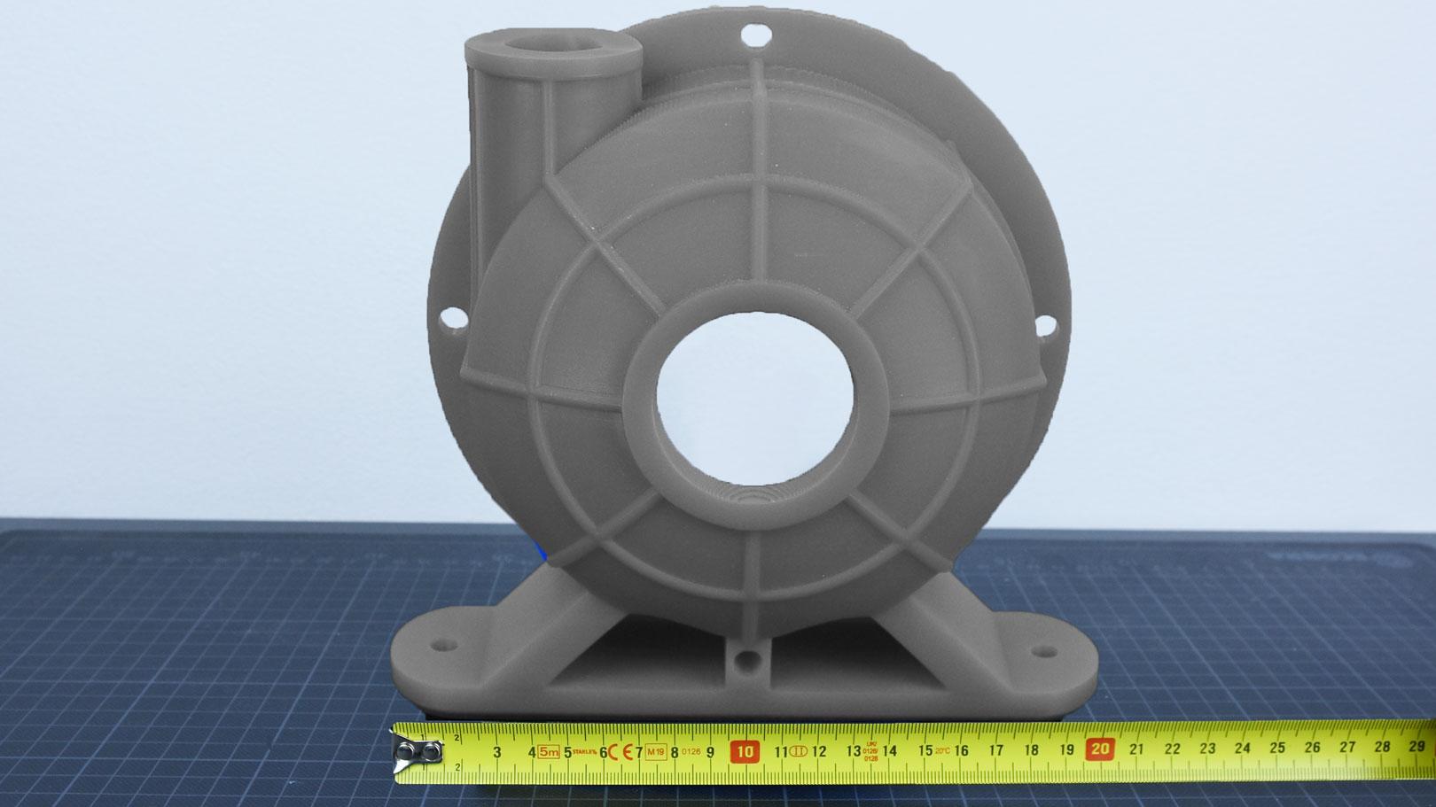 3D-Druckservice Größenvergleich SLA groß