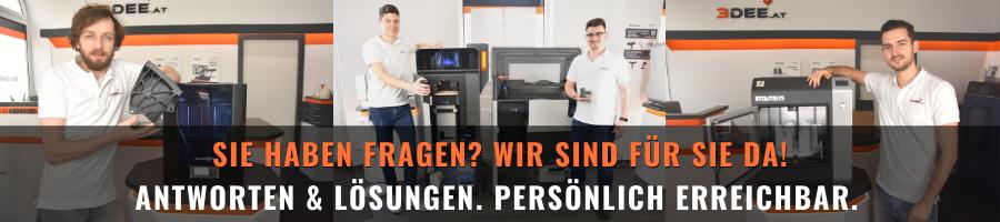 3Dee Team - ANTWORTEN UND LÖSUNGEN - PERSÖNLICH ERREICHBAR